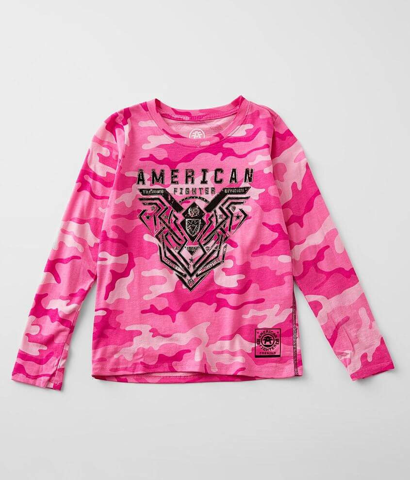 Girls - American Fighter Brimley T-Shirt front view
