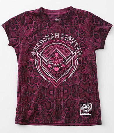 Girls - American Fighter Gurley T-Shirt