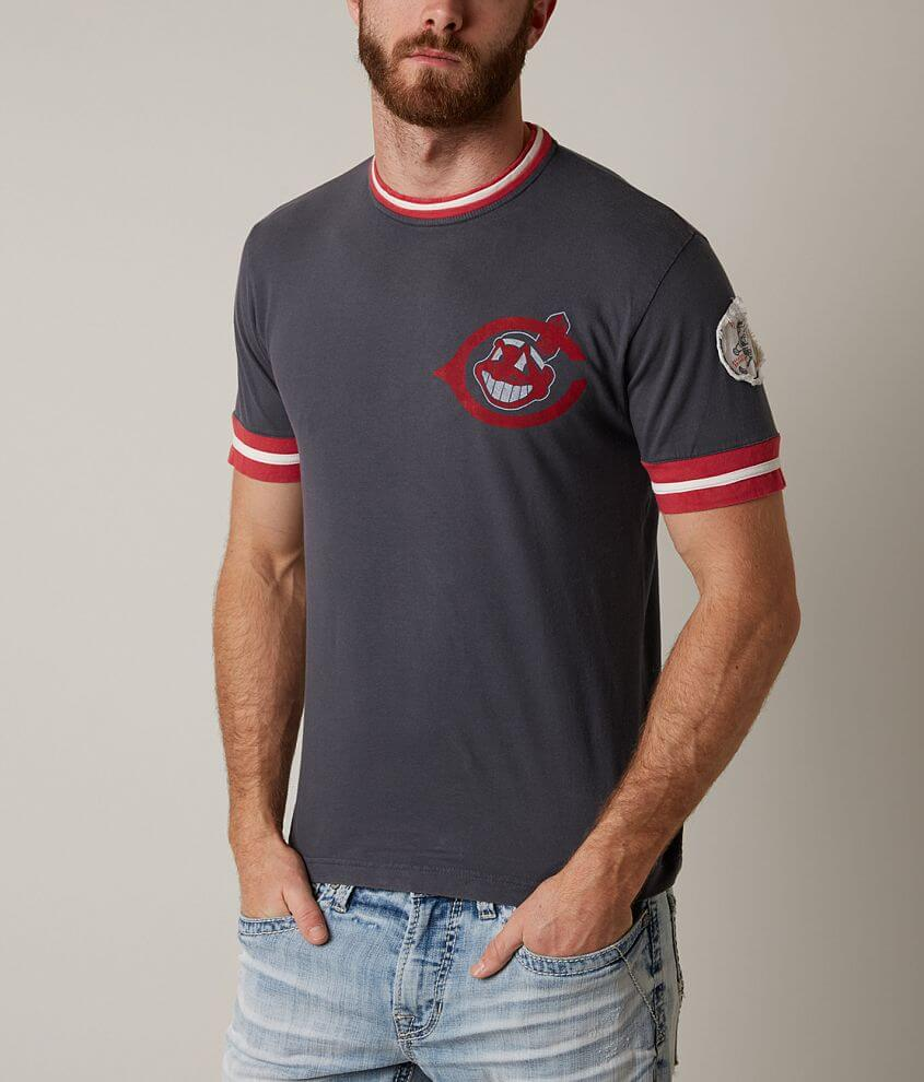 Red Jacket Cleveland Indians T-Shirt front view