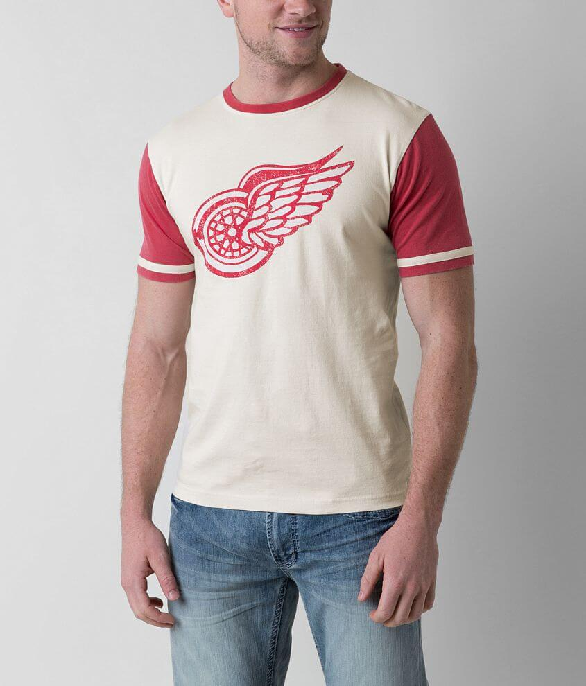 Red Jacket Detroit Red Wings T-Shirt front view