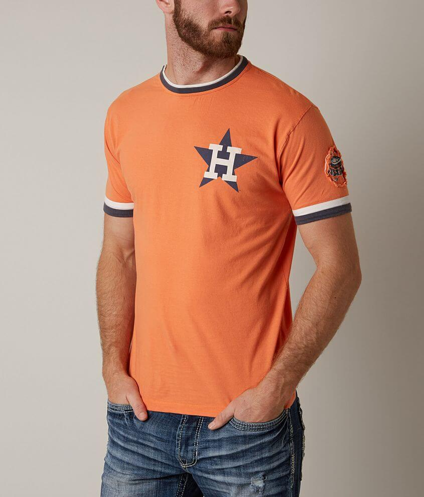 Red Jacket Houston Astros T-Shirt front view