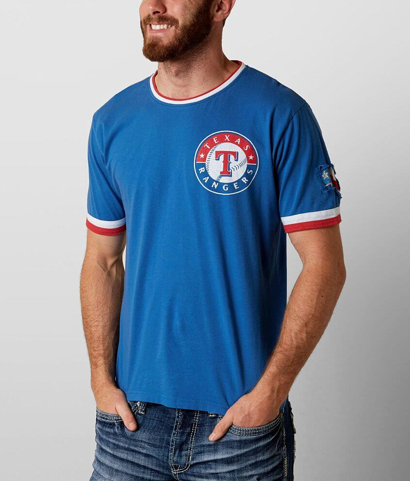 Red Jacket Texas Rangers T-Shirt front view