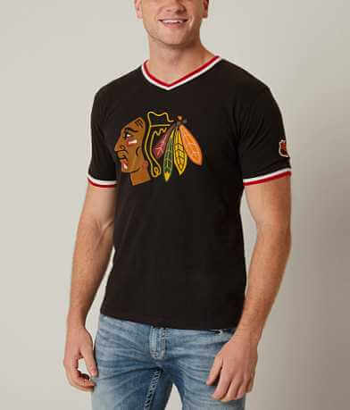 Red Jacket Chicago Blackhawks T-Shirt