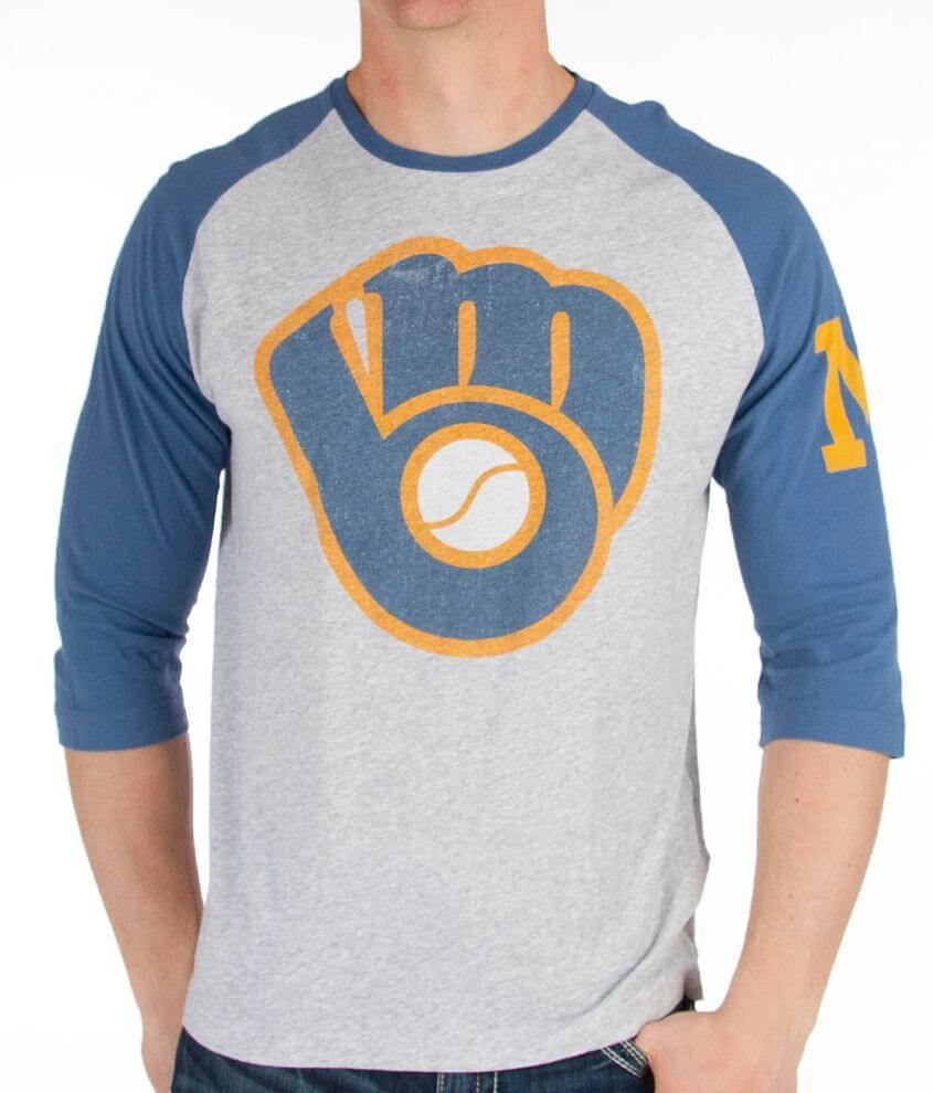 Wright & Ditson Milwaukee Brewers T-Shirt front view