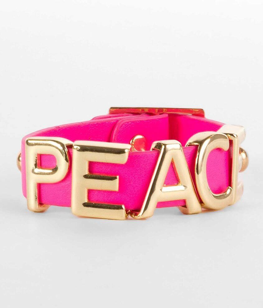 Daytrip Peace Bracelet front view