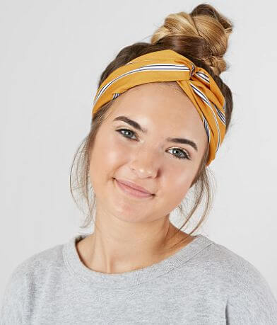BKE Striped Twist Headband