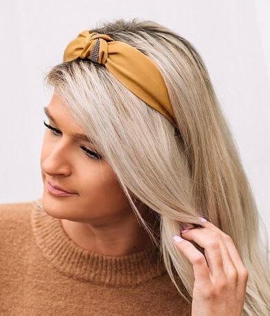 Rhinestone Knotted Headband