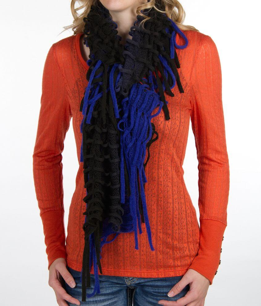 BKE Two-Tone Scarf front view