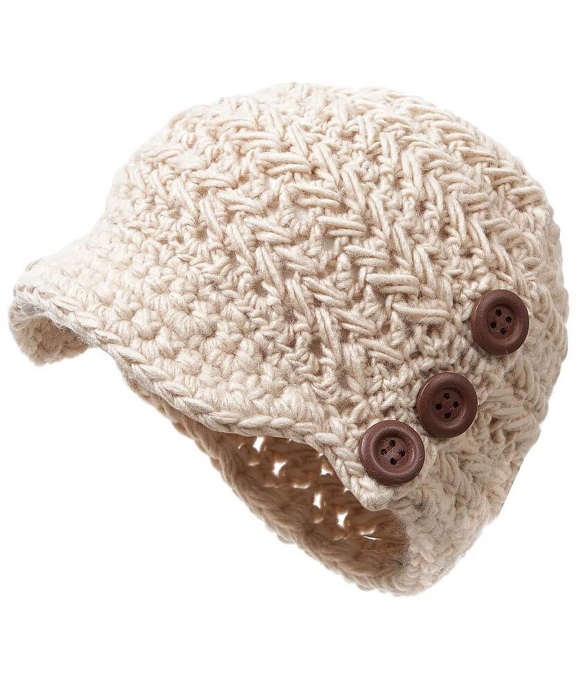Crochet Beanie front view
