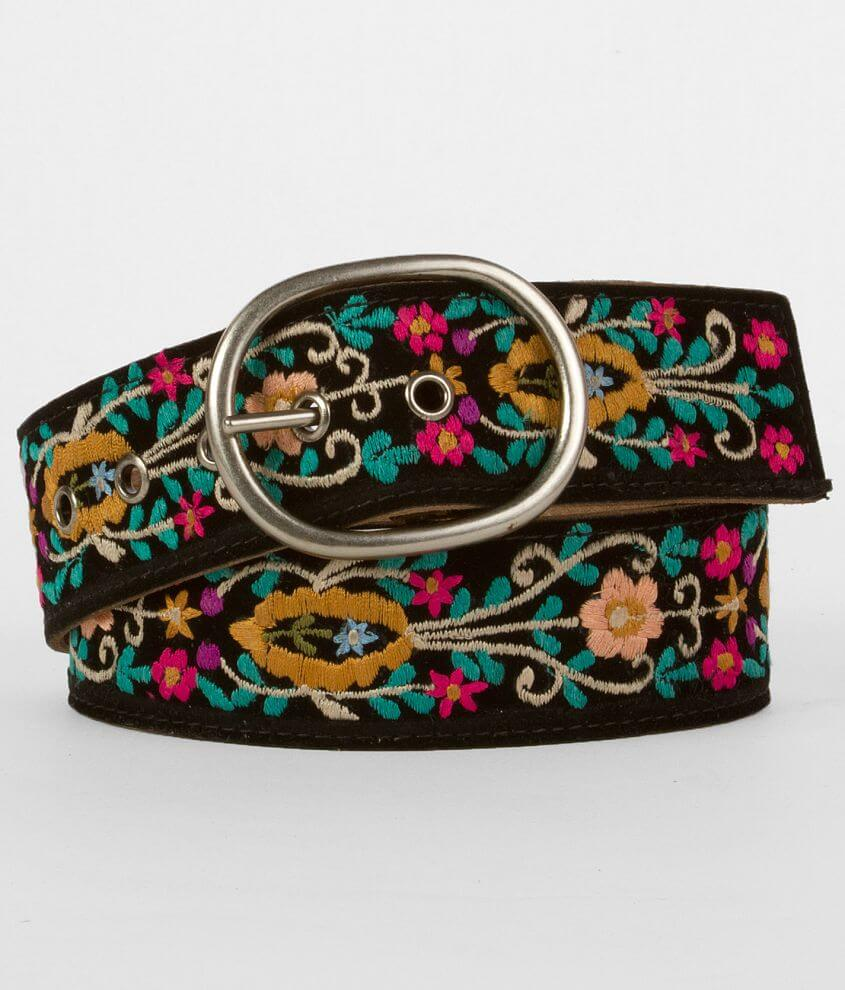 Daytrip Embroidered Belt front view