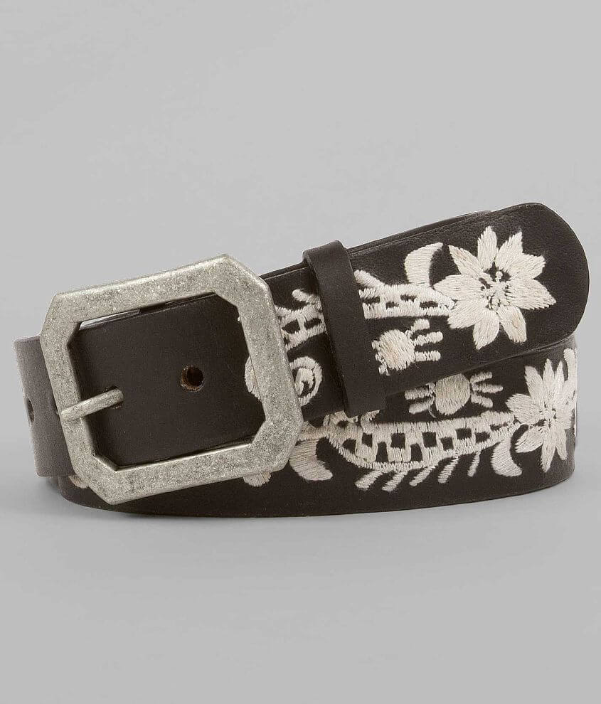 BKE Embroidered Belt front view