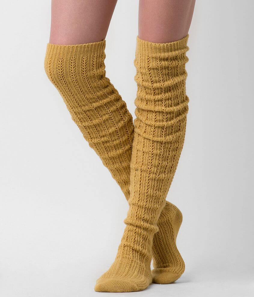 Daytrip Cable Knit Socks front view