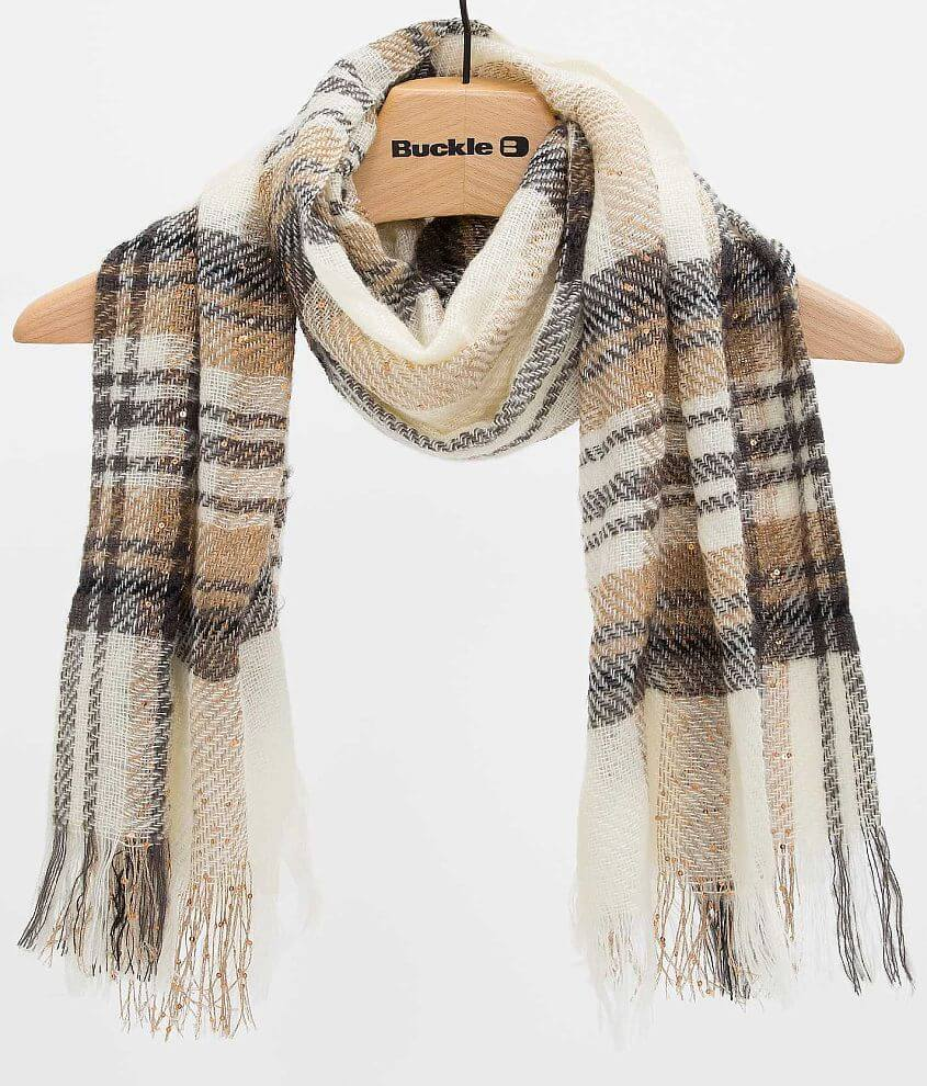 Open Weave Scarf front view