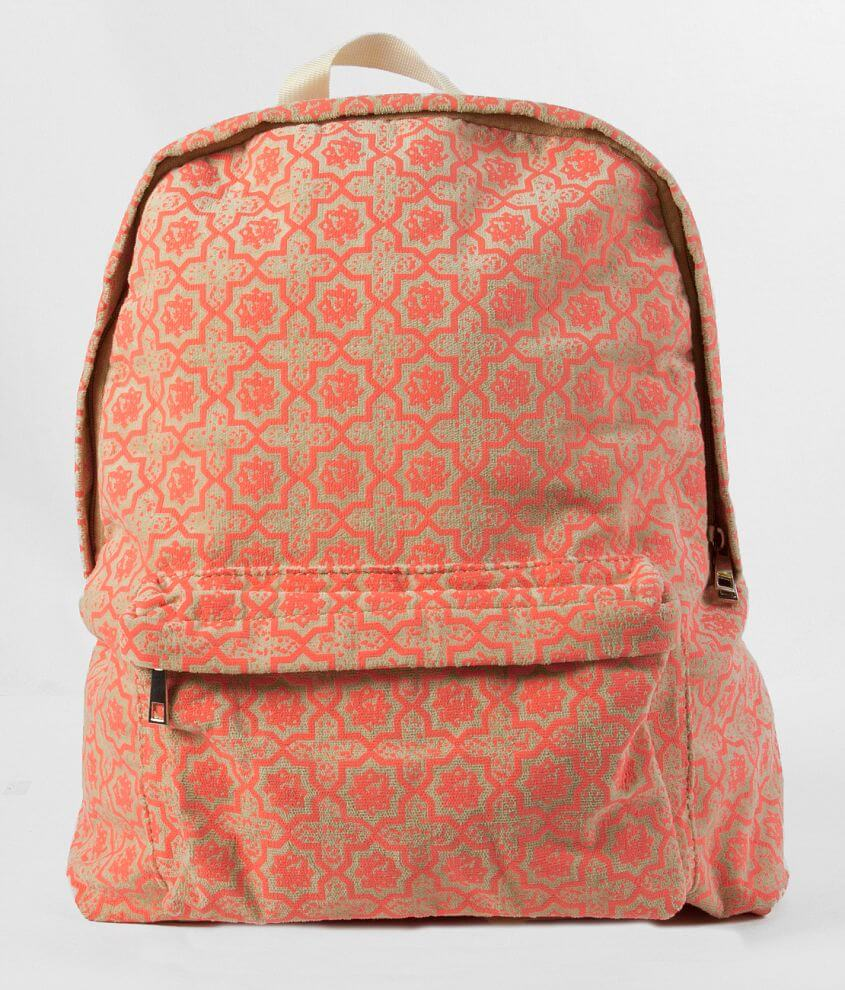Printed Backpack front view