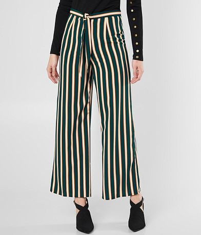 Amuse Society Earn Your Stripes Wide Leg Pant