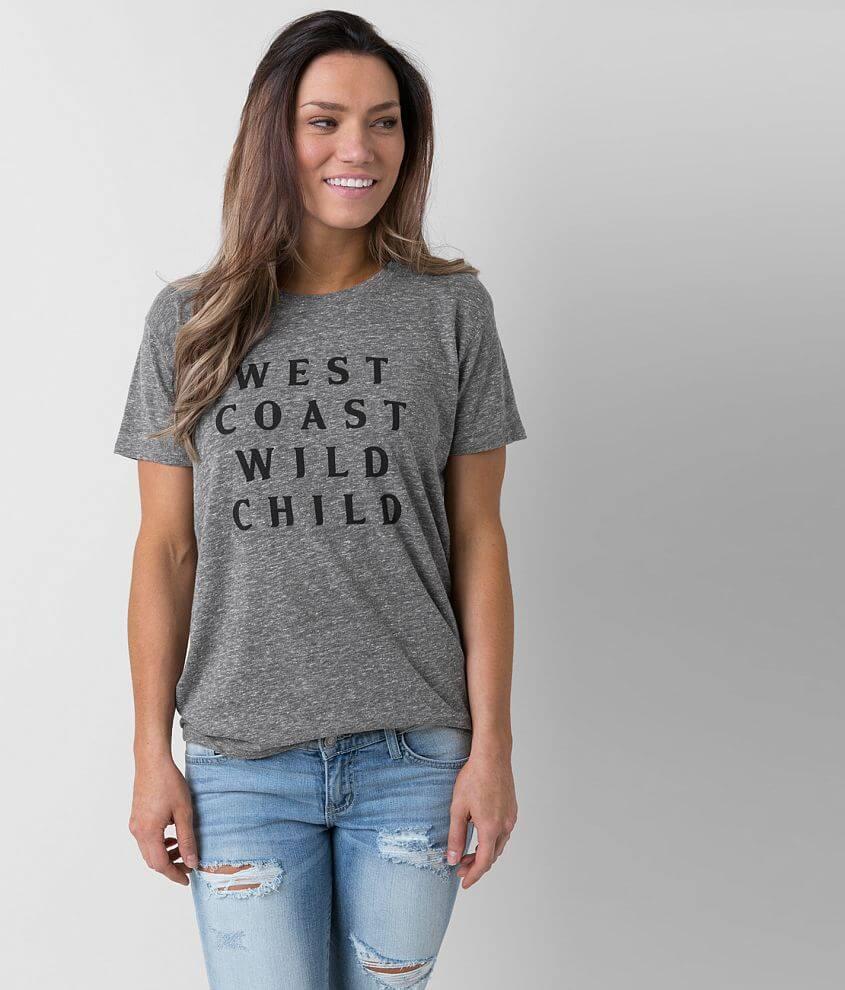Amuse Society Coastal Babe T-Shirt front view