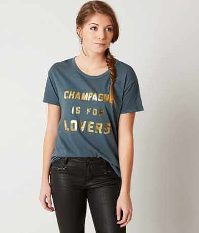 Amuse Society Champagne Is For Lovers T-Shirt