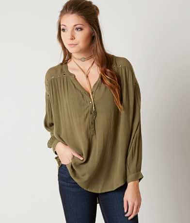 Amuse Society Sage Henley Top
