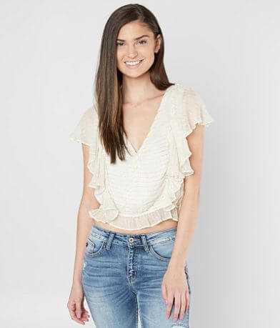 Amuse Society Sunbeam Ruffle Top