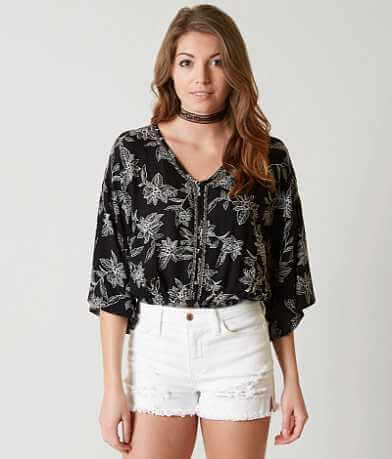 Amuse Society Moon Dancer Henley Top
