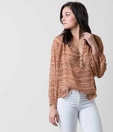 Amuse Society Bonito Henley Top