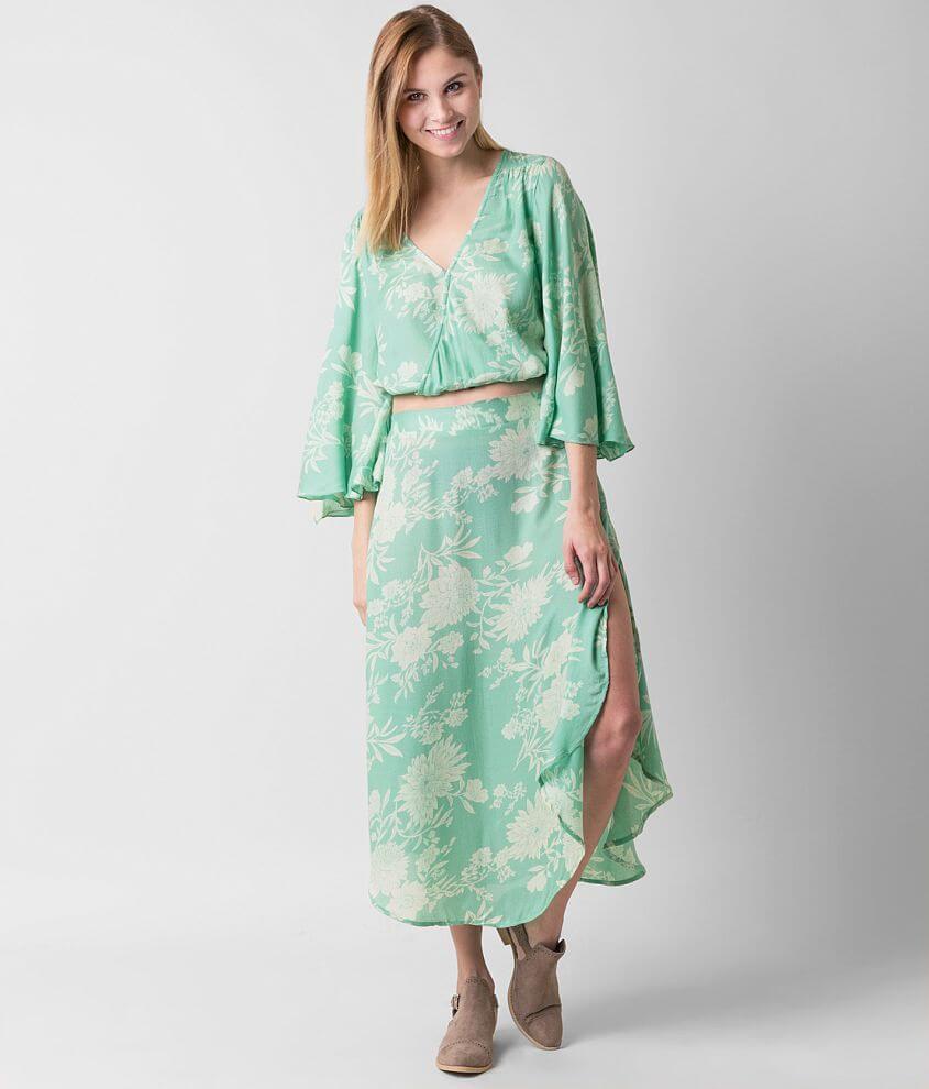 b0580532416 Amuse Society Pipa Top - Women's Shirts/Blouses in Coastal Green ...