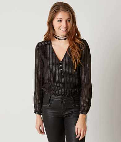 Amuse Society Moonlight Henley Top