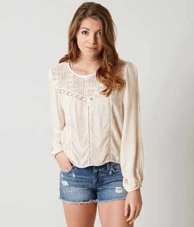 Amuse Society Sunset Rose Top