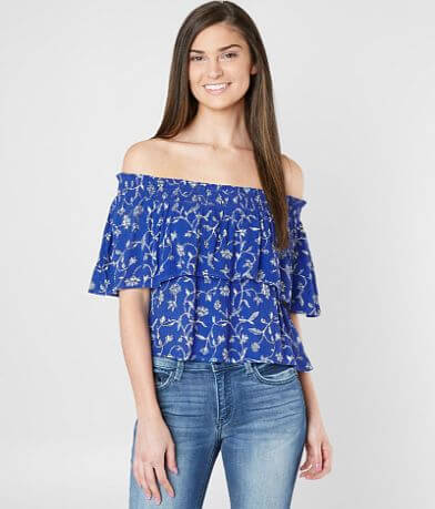 Amuse Society In Your Dreams Floral Top