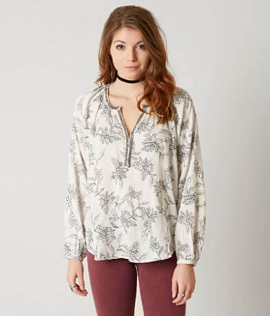 Amuse Society Moon Dance Henley Top