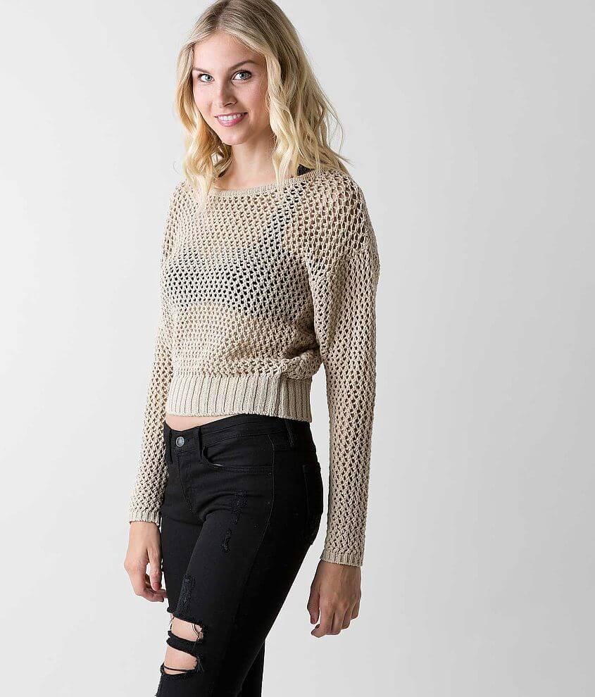 Amuse Society Coastal Sweater front view
