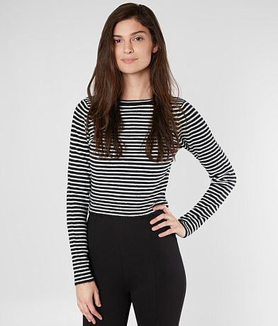 Amuse Society Nova Cropped Sweater