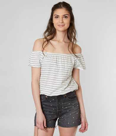 Amuse Society Wandering Muse Off The Shoulder Top