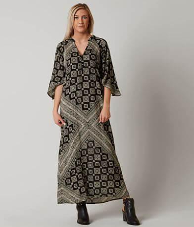 Amuse Society Scorpio Henley Dress