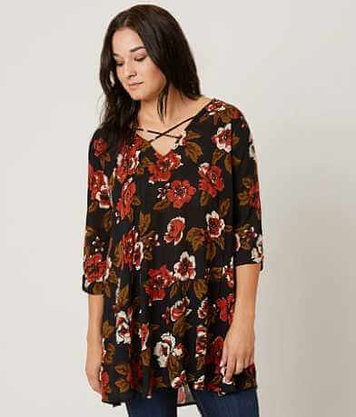 Amuse Society Casyn Tunic Top