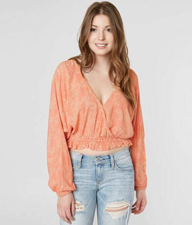 Amuse Society Idyllic Cropped Top