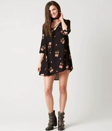 Amuse Society Black Sands Dress