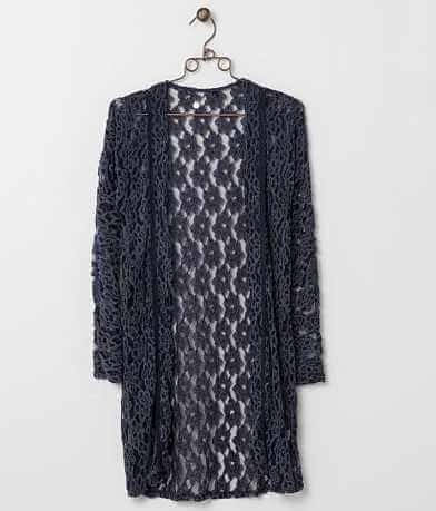 BKE Boutique Lace Cardigan