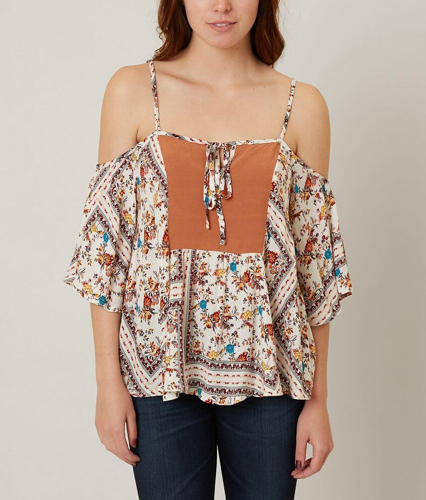 Anama Printed Top front view
