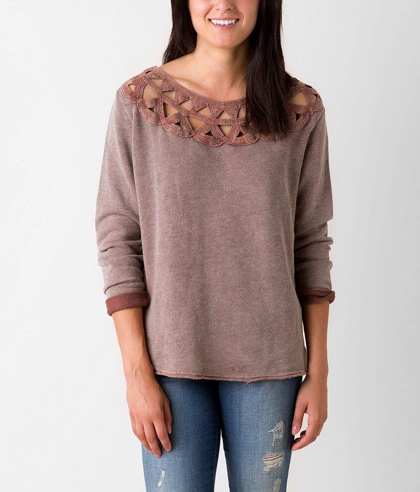 Anama Raw Edge Sweatshirt front view
