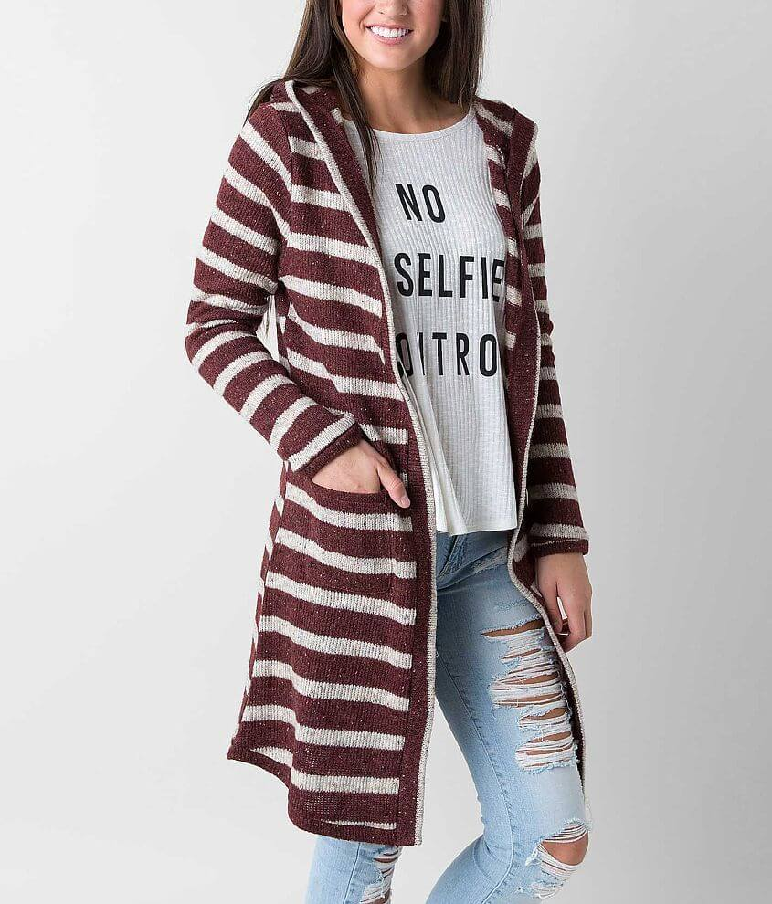 Anama Duster Cardigan Sweater front view