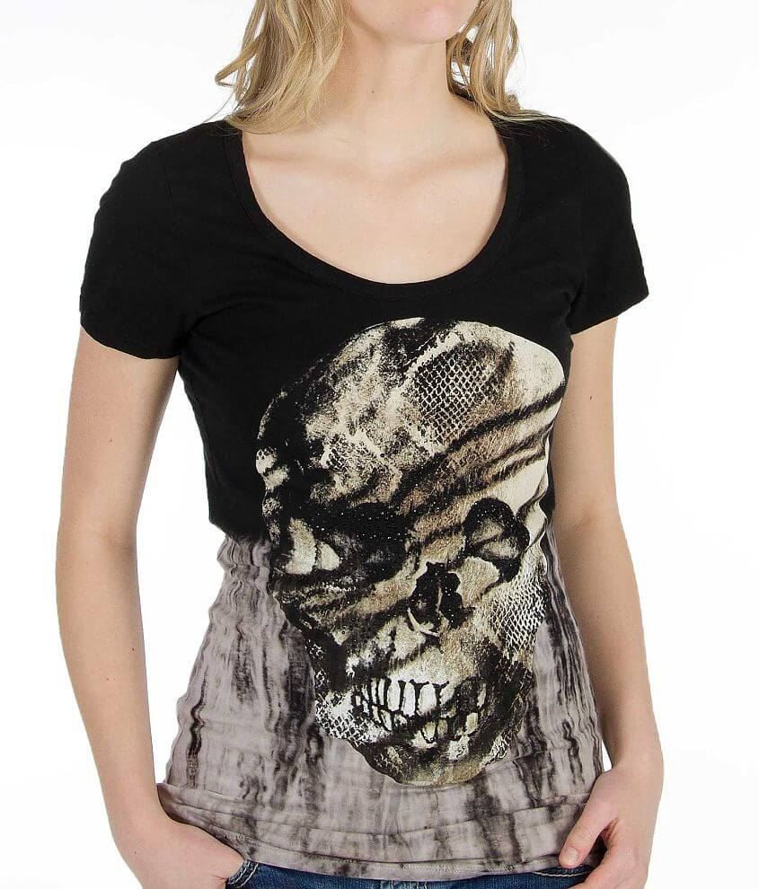 Daytrip Skull T-Shirt front view