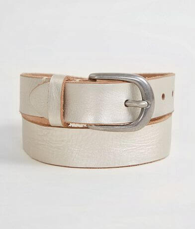 Indie Spirit Designs Metallic Leather Belt