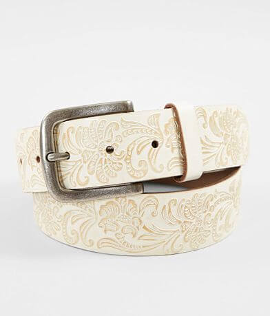Indie Spirit Designs Embossed Leather Belt