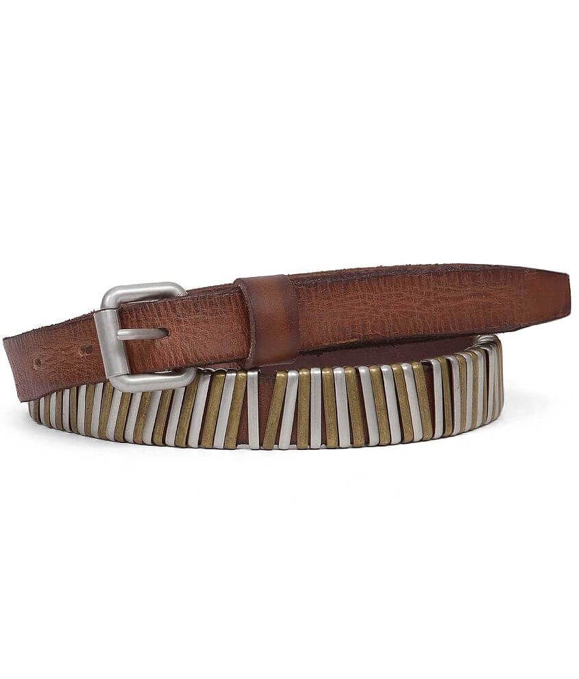 BKE Leather Belt front view