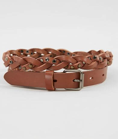 Indie Spirit Designs Braided Leather Belt