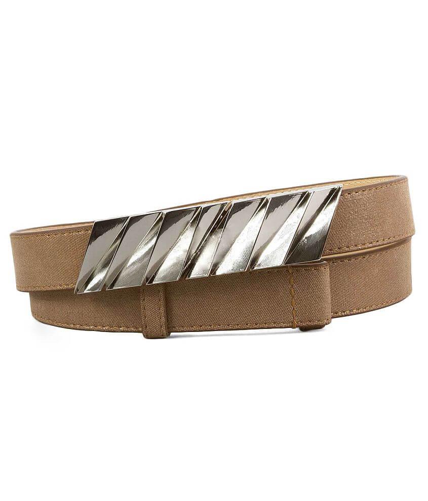 BKE Adjustable Skinny Belt front view