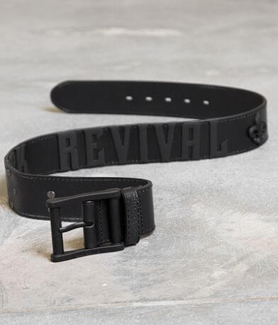 Rock Revival Rock Colorado Leather Belt