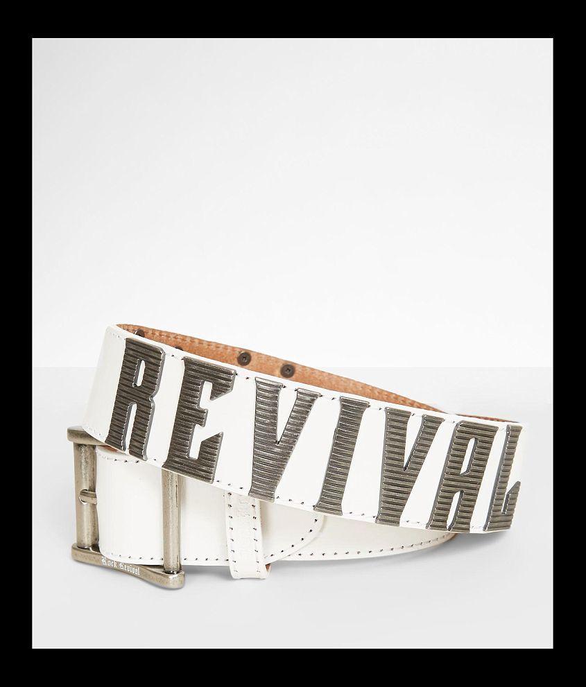 Rock Revival Rock Georgia Leather Belt front view