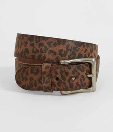 Indie Spirit Designs Leopard Print Belt